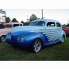 Two Tone Blue Hotrod Wallpaper