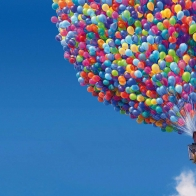 Up Movie Balloons House Wallpapers
