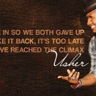 Usher Lyrics Cover