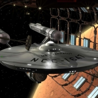 Uss Farragut Mars Dock Wallpaper