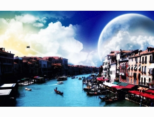 Venice Streets Wallpapers