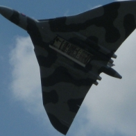 Vulcan Bomber With Bombbay Doors Open Wallpaper