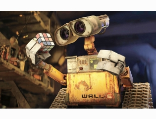 Wall E Amp Rubiks Cube Wallpapers