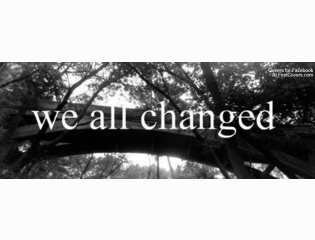 We All Changed Cover