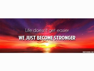 We Just Become Stronger Cover
