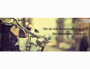 We Remember Moments Cover