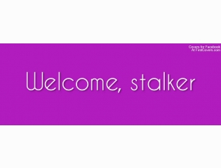 Welcome Stalker Cover