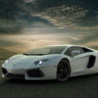 White Car Wallpaper 10