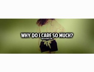 Why Do I Care So Much Cover