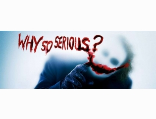 Why So Serious Cover Photo
