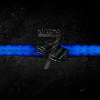 Windows 7 Dirty Dark Wallpapers