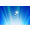 Windows 7 Glow Blue Wallpapers