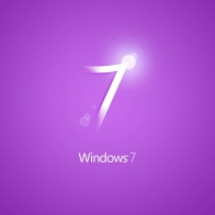 Windows 7 Purple Wallpapers