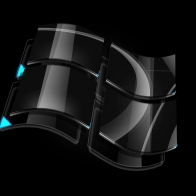 Windows Dark Glass Logo Wallpapers