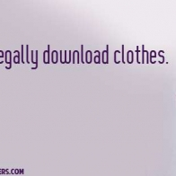 Wish I Could Download Clothes Cover