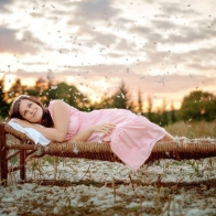 Woman Lying In Bed Hd Wallpapers