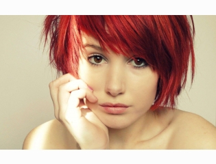 Women Redheads Faces Wallpapers