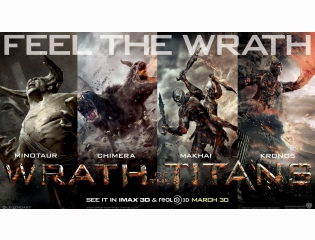 Wrath Of The Titans 2012 Wallpapers