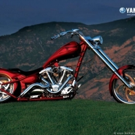 Yamaha Chopper Wallpaper