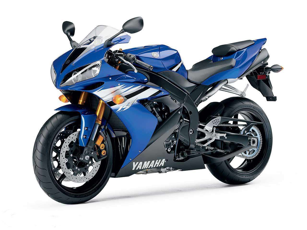 yamaha r1 blue bike - photo #38