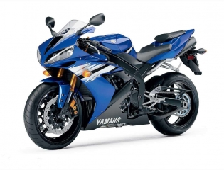 Yamaha R1 Blue Wallpaper