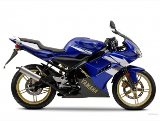 Yamaha Tzr 50 Blue Wallpaper