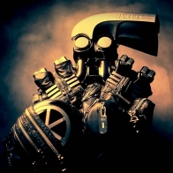 Yamaha V Max Engine Wallpaper