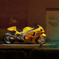 Yellow Motorcycles