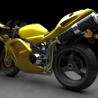 Yellow Sports Bike Wallpapers