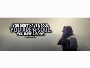 You Are A Soul Cover