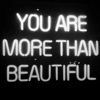 You Are More Than Beautiful Cover