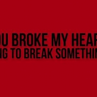You Broke My Heart Cover