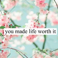 You Made Life Worth It Cover