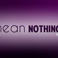 You Mean Nothing Cover