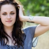 Young actress kristen stewart wallpaper