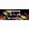 Young Stupid Reckless Cover
