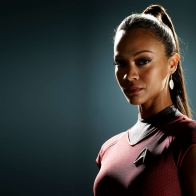 Zoe Saldana As Uhura In Star Trek Wallpapers
