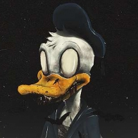 Zombie Donald Duck Cover