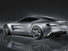 2010 aston martin one 77 rear wallpapers