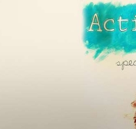 actions speak louder than words cover