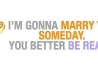 Be Ready To Marry Facebook Timeline Cover