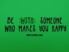 be someone who makes you happy cover
