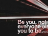 be you cover