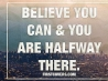 believe you can cover