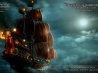 blackbeard 039 s ship in pirates of the caribbean 4 wallpapers