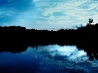 blue sky reflections wallpapers