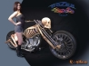 bone bike wallpaper