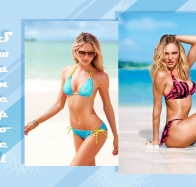 candice swanepoel 2 wallpapers