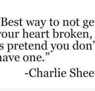 charlie sheen quote cover