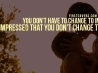 dont have to change cover
